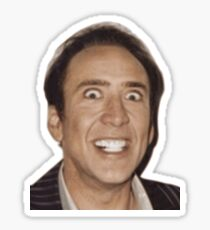 Creepy Cage Sticker