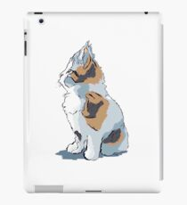 WATCHING THE WORLD GO BY iPad Case/Skin