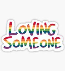 You Are Beautiful Sticker. $2.47. Loving Someone Sticker