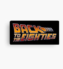Back to the 80s Band Canvas Print