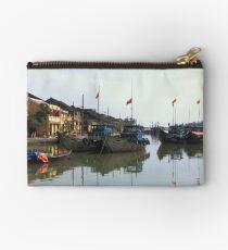 Fishing Boats, Hoi An, Vietnam Studio Pouch