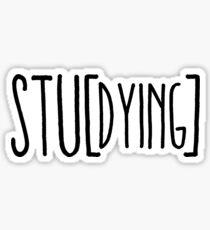 Stu-dying Sticker