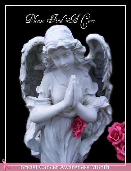 Please Find A Cure Angel by Marie Sharp