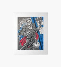 "The Twelfth Doctor (""All Thirteen!"") Art Board"