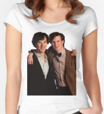 Sherlock and Eleven Women's Fitted Scoop T-Shirt
