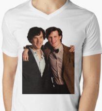 Sherlock and Eleven Men's V-Neck T-Shirt
