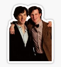 Sherlock and Eleven Sticker