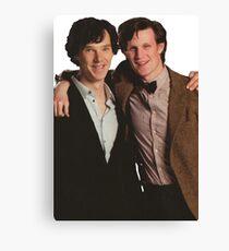 Sherlock and Eleven Canvas Print