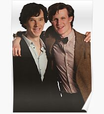 Sherlock and Eleven Poster