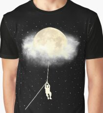 Omega Moon Jump Graphic T-Shirt