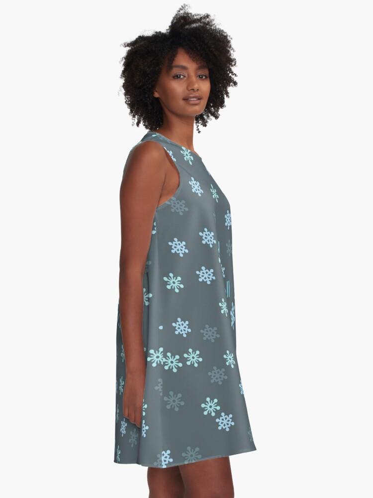 Alternate view of I Smell Snow A-Line Dress