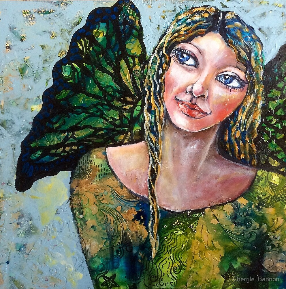 Find your wings by Cheryle  Bannon
