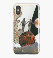 On the way to red planet II iPhone Case/Skin