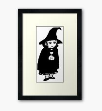 The Littlest Witch  Framed Print
