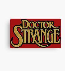 Dr. Strange Canvas Print