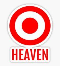 Target Heaven Sticker