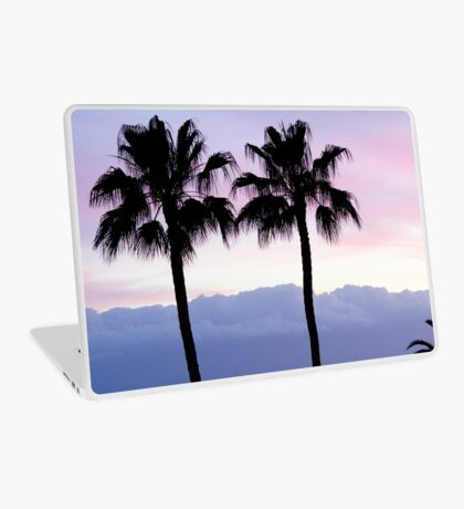 Sunset over Los Gigantes Laptop Skin