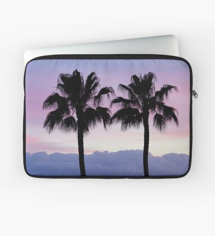 Purple sunset in Los Gigantes Laptop Sleeve