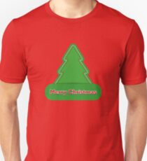Christmas tree. New Year Christmas. T-Shirt