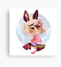 Sky bunny Canvas Print