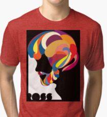 Camiseta de tejido mixto Bob Ross