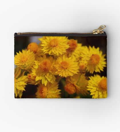 Yellow Paper daisy Studio Pouch