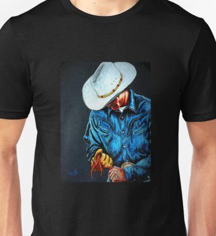 Chisholm...Portrait Of A Cowboy T-Shirt
