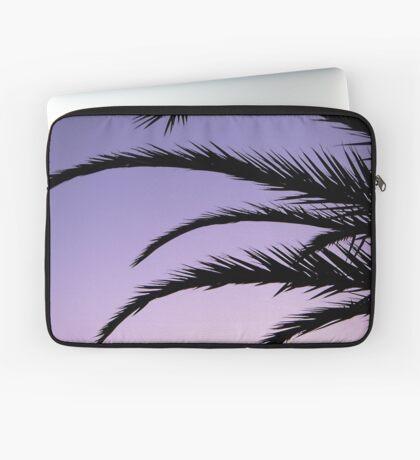 Palm tree sunset Laptop Sleeve