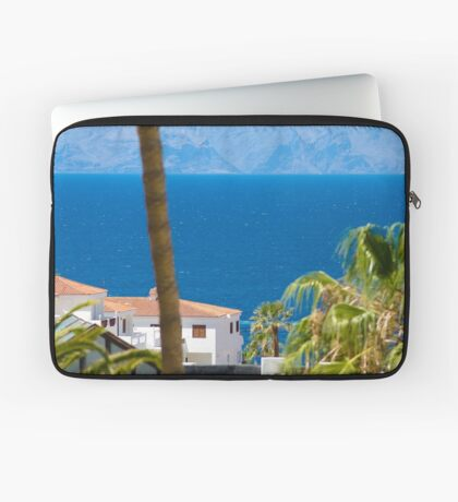 The view down to the sea Laptop Sleeve