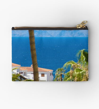 The view down to the sea Zipper Pouch