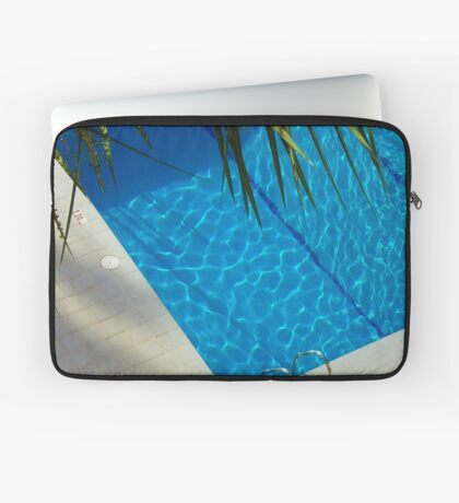 An inviting pool Laptop Sleeve