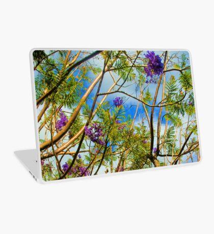 Jacaranda in flower Laptop Skin