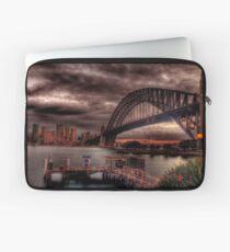 Sunset Sydney Harbour Bridge- VIVID Festival  Laptop Sleeve