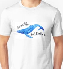 Save The Whales! Unisex T-Shirt