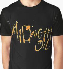 Midnight-Oil Graphic T-Shirt