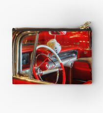 1957 Chevrolet Beauty In Red Studio Pouch