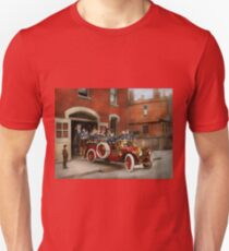 Fire Truck - The flying squadron 1911 T-Shirt