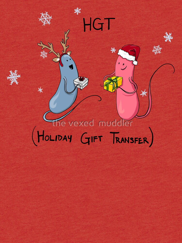 Holiday Bacteria HGT by thevexedmuddler