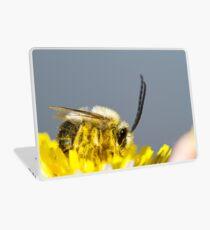 long horned bee Laptop Skin