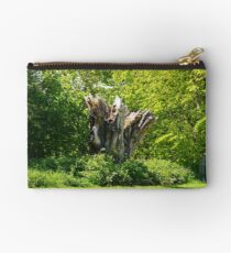 Distressed Tree Studio Pouch