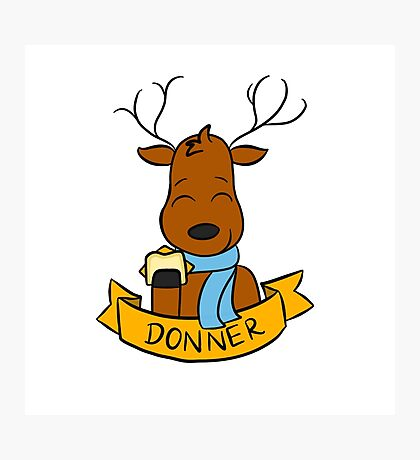 Donner Photographic Print