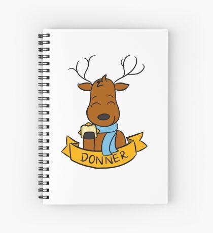 Donner Spiral Notebook