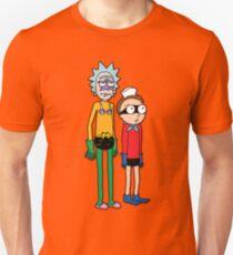 Mermaid Rick and Barnacle Morty  T-Shirt