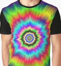 Psychedelic Explosion Graphic T-Shirt