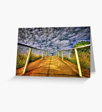 Path to Heaven.... Greeting Card
