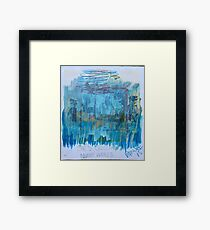She's Crossing Muddy Waters Framed Print