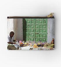 Street Vendor, Gran Canaria Studio Pouch
