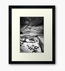 Lonely.. Framed Print