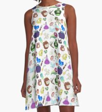 Potions and Potions A-Line Dress