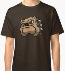 Fun Angry Cartoon Bulldog Classic T-Shirt